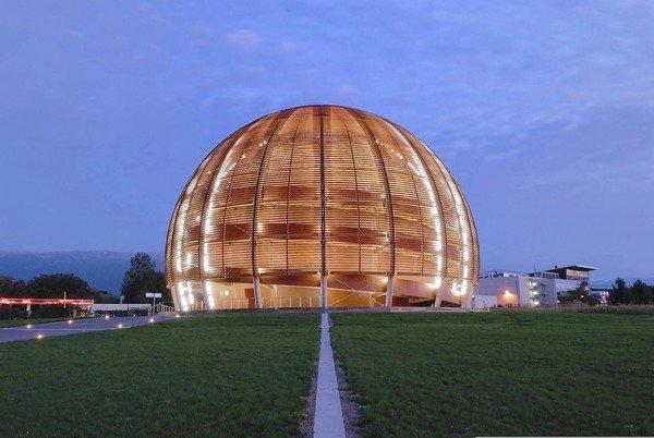 The Globe of Science and innovation at CERN. The Globe houses public-information exhibitions about particle Physics and CERN's mission.