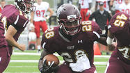 Pocono Mountain West grad Franklyn Quiteh of Bloomsburg is one of three finalists for the 2012 Harlon Hill Award as Division II's best player. The winner will be announced on Dec. 14. … Central Catholic faces Selinsgrove tonight in the PIAA Class 3A playoffs. Saturday, Parkland takes on La Salle College Prep in 4A and Pen Argyl meets Imhotep Charter in 2A. … The Pittsburgh Pirates signed former Yankees catcher Russell Martin to a two-year contract, and the Mets locked up David Wright with a seven-year extension that is the richest contract in team history. …  San Antonio coach Gregg Popovich and NBA commissioner David Stern are squaring off over Popovich's decision to send four players, including Tim Duncan and Tony Parker, home to rest before Thursday's game at Miami. … Atlanta ended Drew Brees' record streak of 54 consecutive games with a touchdown pass in a 23-13 win over New Orleans Thursday night, while Louisville earned the Big East BCS bid by beating Rutgers. … Looking ahead, major college football championships will be decided Saturday, while the Eagles seek an end to their downward spiral Sunday night against Dallas.