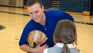 Orioles pitcher Johnson visits St. Paul's School [Pictures]