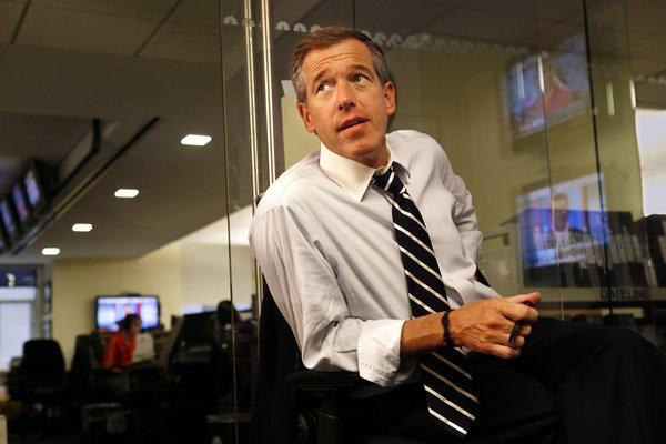 "NBC has moved to its struggling news program ""Rock Center with Brian Williams"" (pictured) to make way for new midseason drama ""Do No Harm""--and gives ""30 Rock""an end date, too."