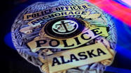 Shortly after 3:45 p.m. Thursday, Anchorage Police Swing Shift Patrol officers responded to a robbery at the Brown Jug liquor store at 930 W. 5th Avenue, according to APD spokesperson Lt. Dave Parker.