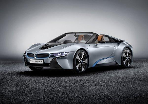 The BMW i8 Spyder Concept