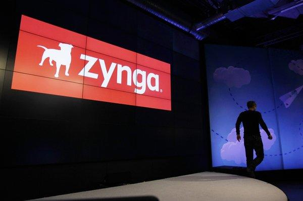 CEO Mark Pincus at a Zynga event in June