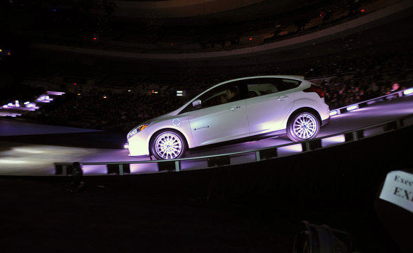 The electric Ford Focus EV