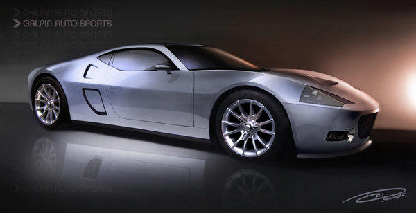 Galpin Auto Sports announced plans for its top-secret super-car project, the GTR-1, at the 2012 Los Angeles Auto Show.