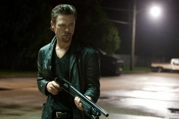 "Brad Pitt in ""Killing Them Softly."""