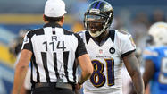Ravens wide receiver Anquan Boldin was fined $7,875 for his unnecessary roughness penalty against the San Diego Chargers, according to NFL spokesman Corry Rush.
