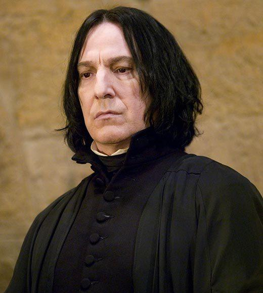 Snape's dark, lank, greasy hair seemed to signal an equally dark, lank, greasy soul -- but a hero lurked underneath those locks. In fact, if Snape had learned to lather, rinse and repeat, Harry would probably have figured out his better nature before it was too late.