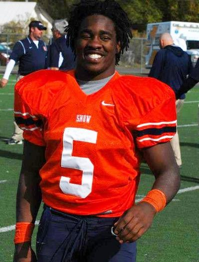 Breon Allen, RB, Snow College, Ephraim, Utah, WSFL Offensive Player of the Year