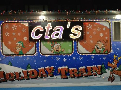 Reader @mysticrealm21 spotted the holiday train Nov. 29 at Fullerton.