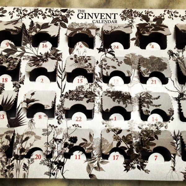The Ginvent Calendar includes 24 tastings of gin, leading up to Dec. 24.