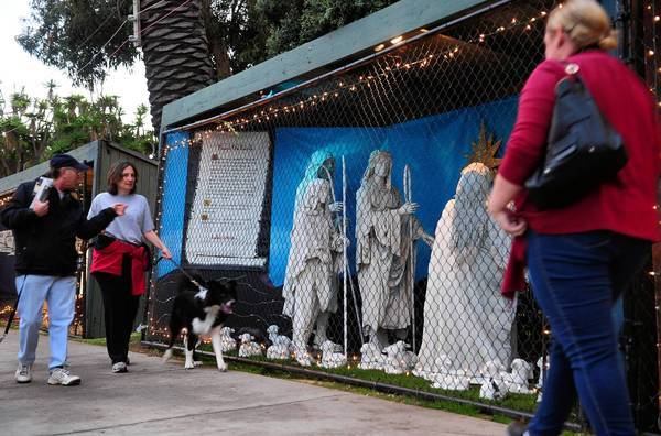 Santa Monica decided to do away with its tradition of allowing Nativity scenes in Palisades Park.