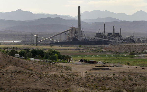 The Reid-Gardner power station, a coal-fired plant outside Las Vegas.