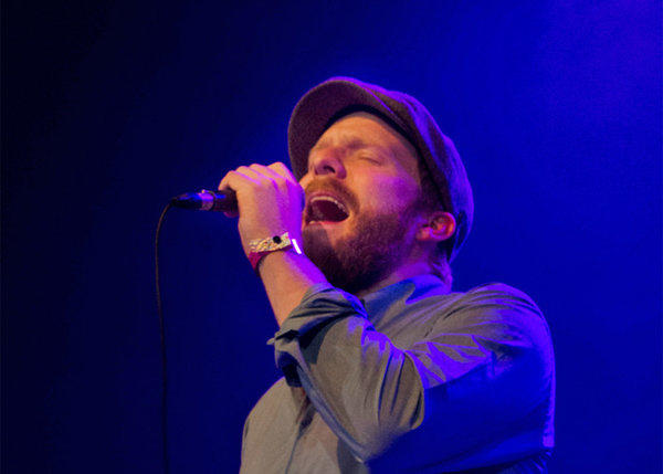 U.K. singer-songwriter Alex Clare onstage at the Fonda