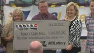 DEARBORN, Mo. -- A family that's been facing some hard financial times won't have to worry about stretching their dollars anymore.  The Hill family went public at a news conference on Friday.  After taxes, they'll take home a lump sum payment of about $136 million from the record Powerball jackpot last Wednesday.