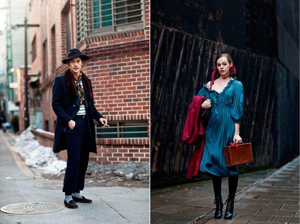 Street fashion captured by The Sartorialist