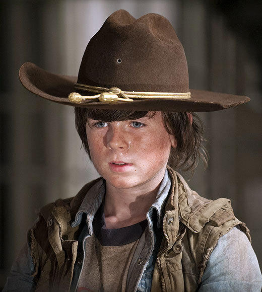 TV's underrated stars of 2012: Zap2it's Year in Review: You know him as: Carl Grimes, the youngest member of a badass band of zombie apocalypse survivors (unless you count his newborn baby sister)   Why we like him: In the first two seasons, Carl was a kid in need of protection. Hed wander off, get himself shot, accidentally unleash a zombie that killed one of his fellow survivors (Dale). And through it all, Riggs was pretty solid by TV child actor standards. But hes really blossomed this season as The Walking Dead has amped up the action and Carl has become a full-on warrior. Hes every bit the product of his no-nonsense dad Rick (Andrew Lincoln) and late mother Lori (Sarah Wayne Callies), who left him with words of wisdom that inspired a steely resolve ... and eased the pain of the ugly necessity of shooting her in the head before she turned into a walker.   Where else youve seen him: Walking Dead is his first major role, but Riggs did appear in the 2009 Robert Duvall/Bill Murray indie Get Low.   -- Geoff Berkshire, Zap2it