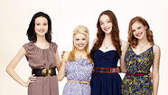 Julia Goldani Telles, Bailey Buntain, Emma Dumont and Kaitlyn Jenkins, 'Bunheads'