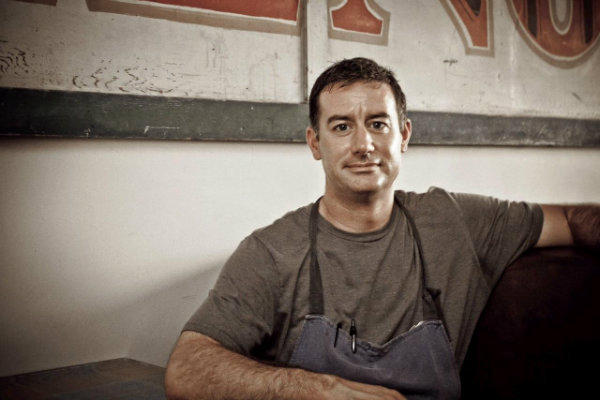 Kevin Kathman is chef of Wolf in Sheep's Clothing in Venice.