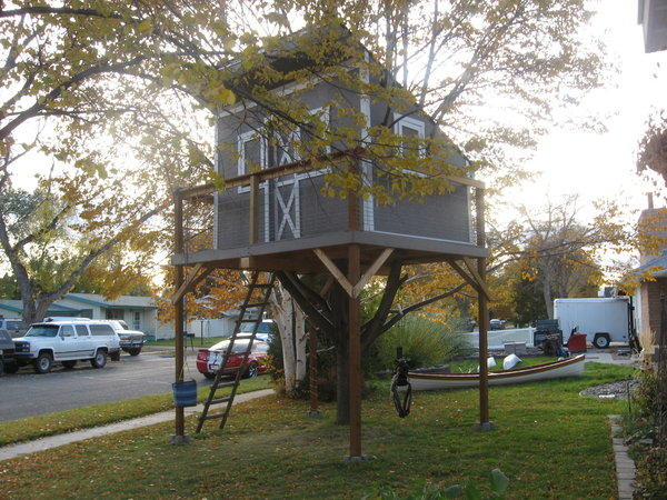Two boys in Billings, Mont., hope to win a zoning variance to prevent the removal of their treehouse.