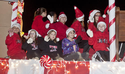 Photo Gallery: Junction City Christmas Party 113012