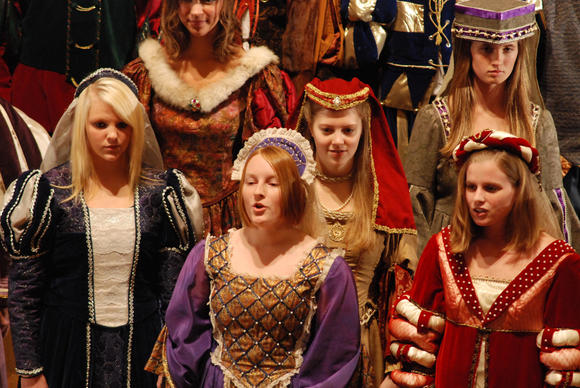 Petoskey High School Madrigals scheduled