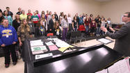 More than 150 students in four choral groups will present Aberdeen Central's Holiday Vocal Concert Tuesday night.Dec. 4
