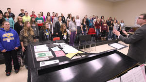 Central holiday concert Tuesday