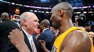 The unraveling of the Lakers over the season's first few weeks was so complete that not even purple-and-gold pugilist George Karl could enjoy it.