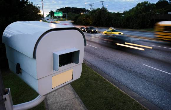 Speed cameras around the area