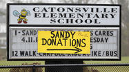 Catonsville Elementary helps Hurricane Sandy victims [Pictures]