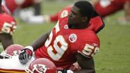 The news that Kansas City Chiefs linebacker Jovan Belcher had died in a murder-suicide hit Ravens defensive lineman Arthur Jones particularly hard.
