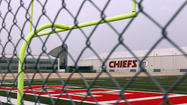 KANSAS CITY, Mo. (AP) — Kansas City Chiefs linebacker Jovan Belcher fatally shot his girlfriend early Saturday, then drove to Arrowhead Stadium and committed suicide in front of his coach and general manager after first thanking them for everything they had done for him, police said.