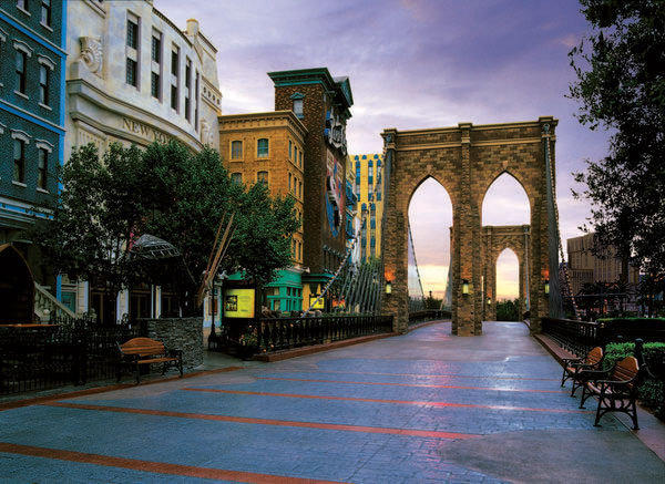 """The Brooklyn Bridge at New York New York Hotel & Casino in Las Vegas is to be the site of """"Start Spreadin' the News, """" the Dec. 9 food event to benefit victims of Superstorm Sandy."""