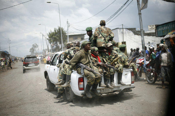 Congolese rebels withdraw