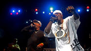 Public Enemy performs at The Liacouras Center