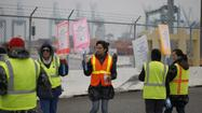 In a potentially hopeful sign, contract talks in the now 5-day-old strike at the ports of Los Angeles and Long Beach went all night Friday and into early Saturday morning.