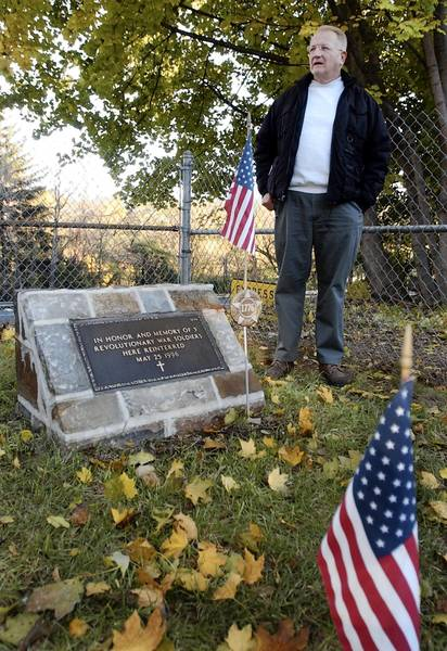 Ten years ago, Ed Redding of Bethlehem began a crusade to clean up his city's Revolutionary War Memorial. It is well maintained, except for the main flag's shabby treatment.