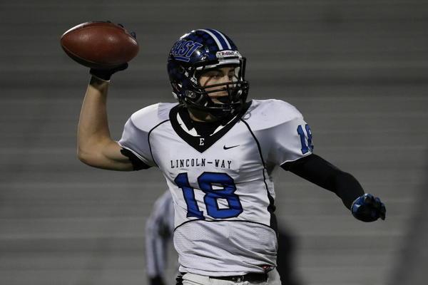 Football Recruiting Lincoln Way East Quarterback Tom