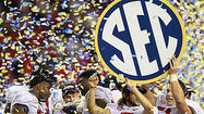 ATLANTA — Long after enough blue, white and yellow streamers and confetti fell from the roof to blanket the Georgia Dome floor, Alabama linebacker Nico Johnson sat in front of a locker room stall in the corner and endured the pop quizzes after surviving a torturous exam.