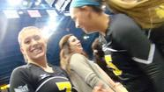Photos: WSU Volleyball takes down KU