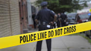 A man was fatally stabbed in east Baltimore in the early hours of Saturday morning, two men were shot Saturday night and a man and a woman were shot Sunday in the city, police said.