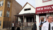 A man died following a fire late this morning on the West Side, officials said.