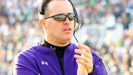 Northwestern lands in Gator Bowl