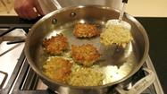 "Latkes have soul, particularly this classic version from cookbook author Phyllis Glazer, made from grated potatoes, eggs and matzo meal and not much else. It's adapted from ""The Essential Book of Jewish Festival Cooking."""