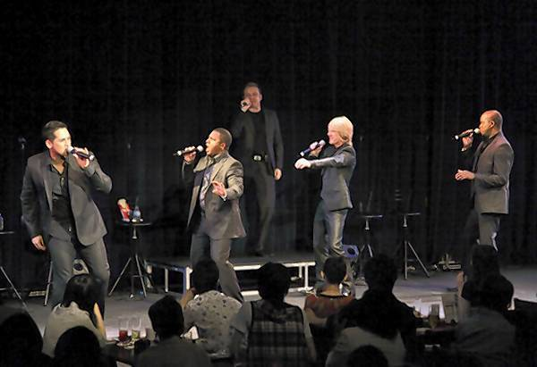 Rockapella group will perform at the A Cappella Sing-Off Dec. 6 ay Busch Gardens