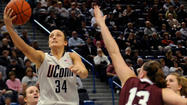 UConn's Kelly Faris Has Worked Hard To Become A Better Shooter