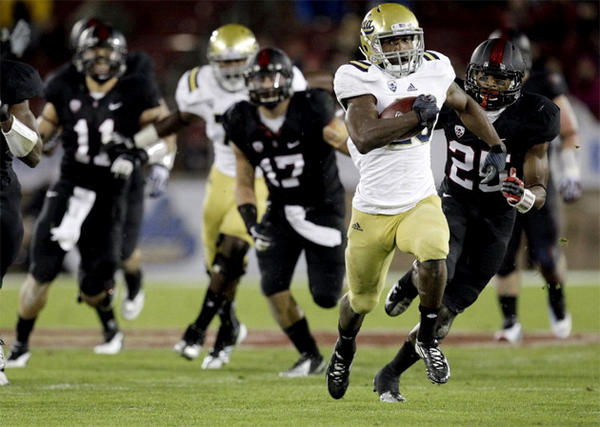Johnathan Franklin and UCLA will meet Baylor in the Holiday Bowl on Dec. 27.