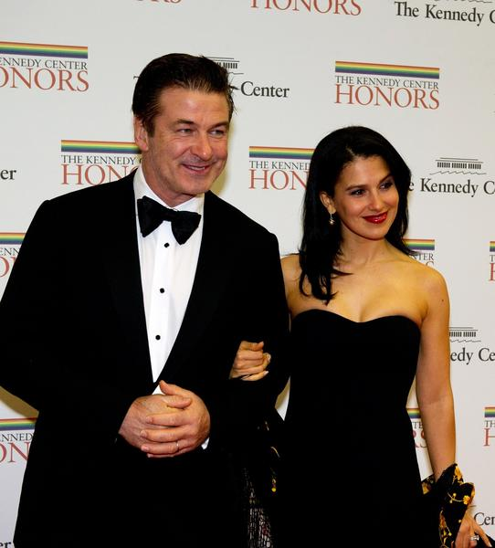 Alec Baldwin and his wife, Hilaria.
