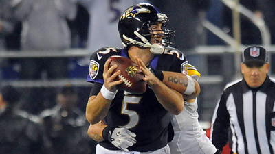 Ravens offense sputters in fourth quarter